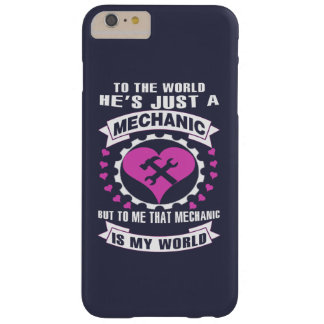 Mecánico del amor funda barely there iPhone 6 plus