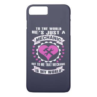 Mecánico del amor funda iPhone 7 plus