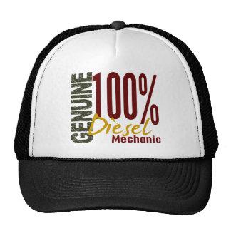 Mecánico diesel auténtico gorras