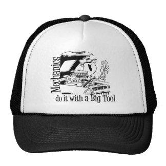 Mecánico divertido de la herramienta grande gorras