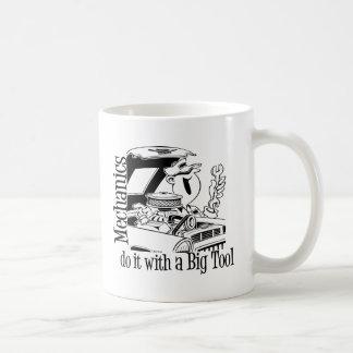 Mecánico divertido de la herramienta grande taza