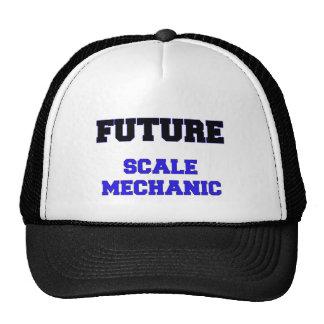 Mecánico futuro de la escala gorros
