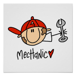 Mecánico Poster