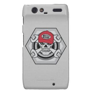 Mecánico Skull-01 Carcasa Para Droid RAZR