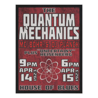 Mecánicos de Quantum @ House of Blues Póster