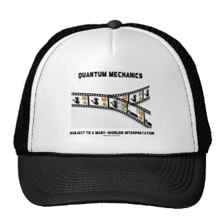 Mecánicos de Quantum interpretación de muchos mund Gorras De Camionero