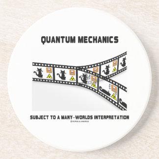 Mecánicos de Quantum interpretación de muchos Posavasos Personalizados