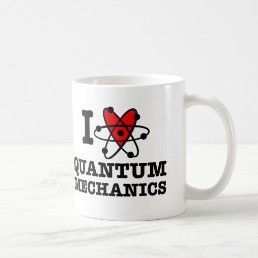 Mecánicos de Quantum Taza