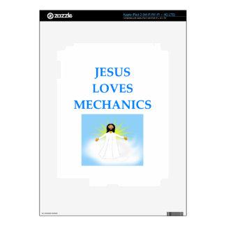 MECÁNICOS iPad 3 PEGATINAS SKINS