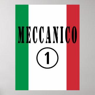 Mecánicos italianos: Uno de Meccanico Numero Póster