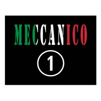 Mecánicos italianos: Uno de Meccanico Numero Tarjeta Postal