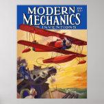 Mecánicos modernos e invenciones impresiones