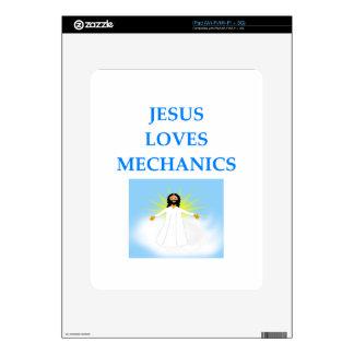 MECÁNICOS SKIN PARA EL iPad