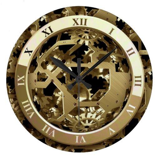 Mecanismo 6 relojes de pared