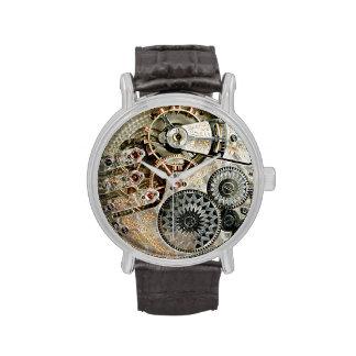 Mecanismo antiguo del reloj
