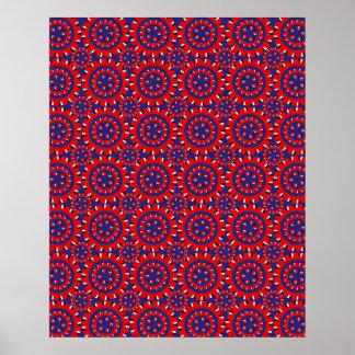 Mecanismo de la ilusión óptica poster