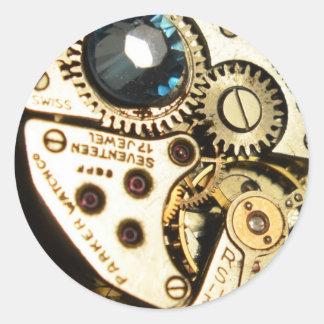 mecanismo de relojería etiquetas
