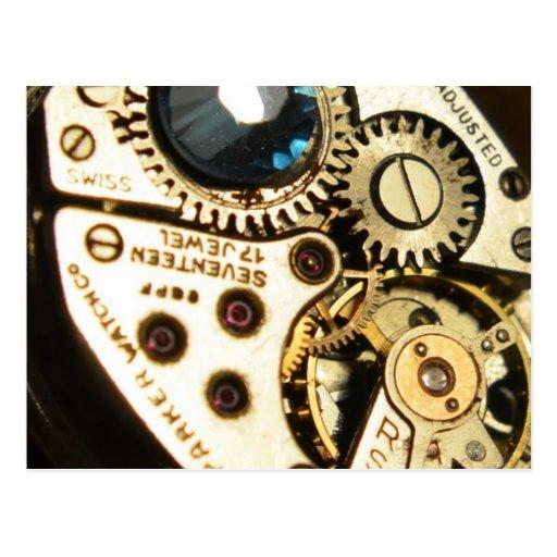 mecanismo de relojería postal