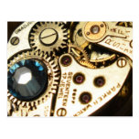 mecanismo de relojería postales