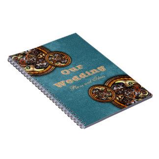 Mecanismo y cuero, cuaderno