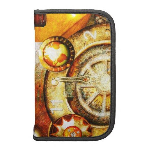 Mecanismos - folio de Steampunk Smartphone Organizador