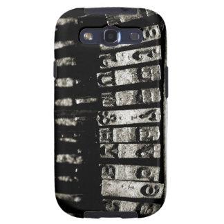 Mecanografíe la caja de la galaxia de Samsung Galaxy S3 Cobertura