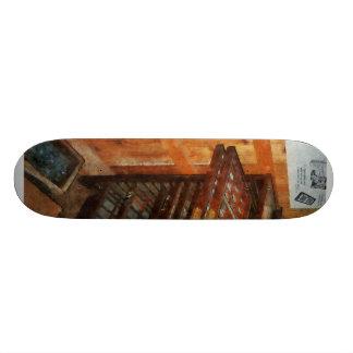Mecanografíe la caja tablas de skate