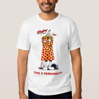 MECANOGRAFÍE la camiseta de la PERSONALIDAD de Z Playera