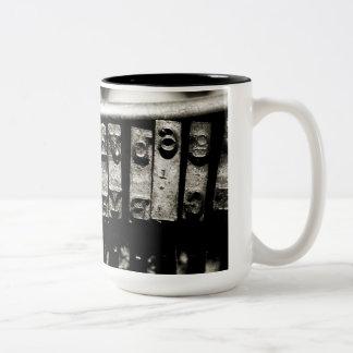 Mecanografíe la taza
