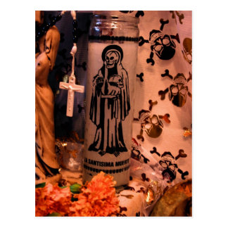MECA's 2008 Day of The Dead Festival Postcard
