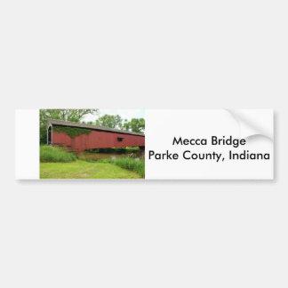 Mecca Covered Bridge Bumper Stickers