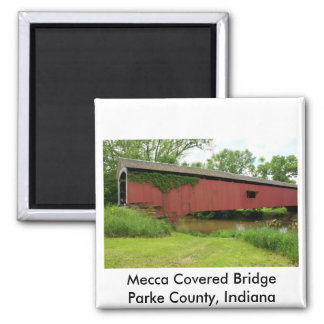 Mecca Covered Bridge Magnet
