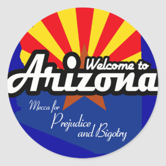 Mecca for Prejudice and Bigotry Classic Round Sticker