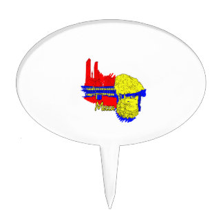 mecca primary city graphic travel image.png cake topper