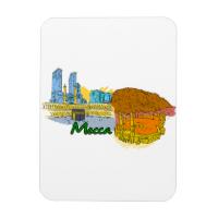 Mecca - Saudi Arabia.png Rectangle Magnets