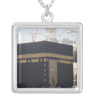 mecca silver plated necklace