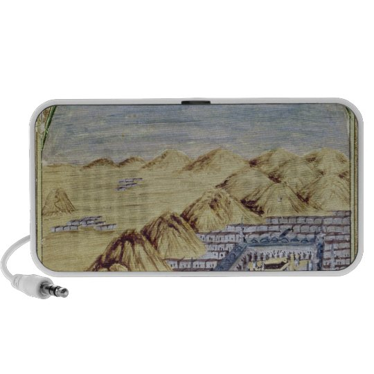 Mecca surrounded by the Mountains of Arafa Mini Speaker