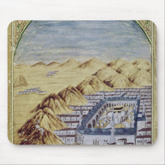 Mecca surrounded by the Mountains of Arafa Mouse Pad