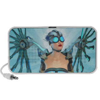 Mech Angel Fantasy Surreal Speaker