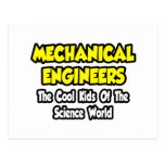 Mech Engineers...Cool Kids of Science World Postcard