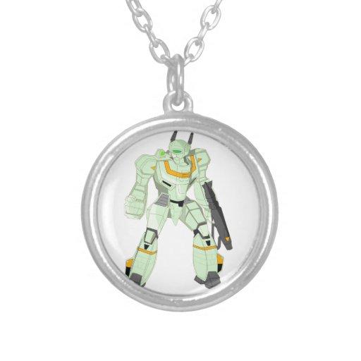 Mech Warrior Godzenant Necklace
