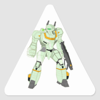 Mech Warrior Godzenant Triangle Sticker
