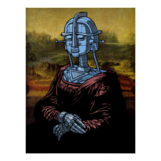 Mecha Lisa Póster