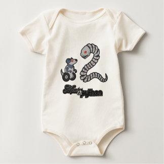 Mecha Mouse Vs Snake Baby Bodysuit