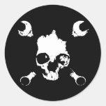 Mechaneer Classic Round Sticker
