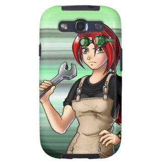 Mechanic Anime Girl Galaxy S3 Case