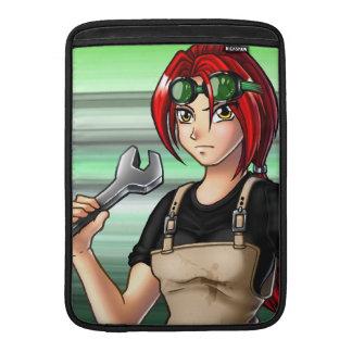 Mechanic Anime Girl MacBook Air Sleeve