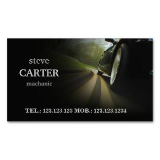 Mechanic Automotive Car Black Wheel Card