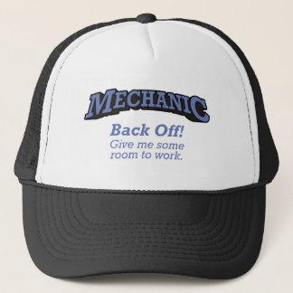 Mechanic / Back Off Trucker Hat