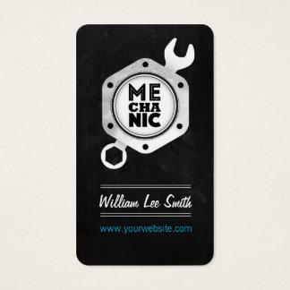 Mechanic business business card